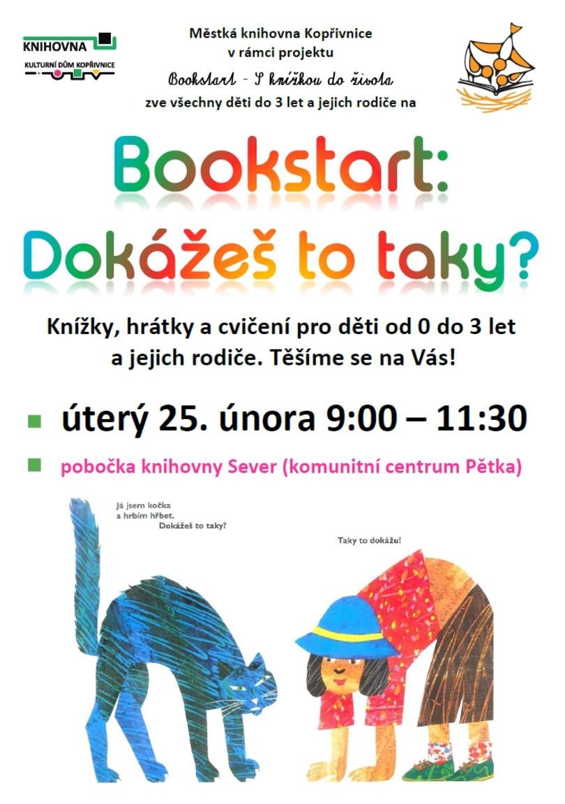 PRO DĚTI: Bookstart: Dokážeš to taky?