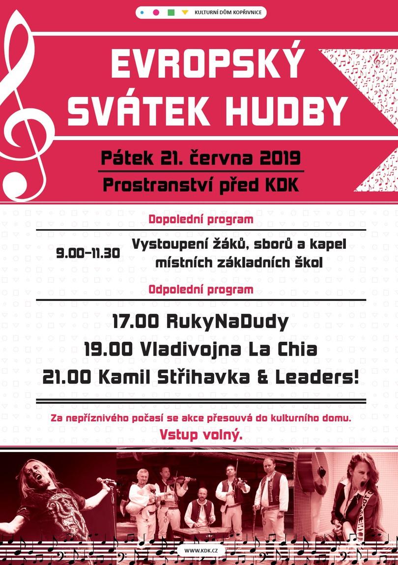 FESTIVAL: Evropský svátek hudby