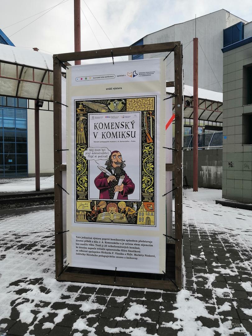 VÝSTAVA: Výstava KOMenský v KOMiksu