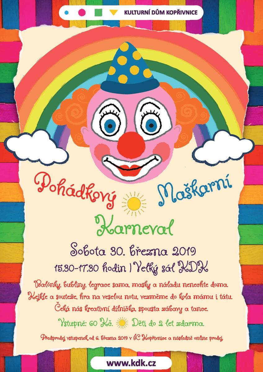 1672ad04c Kulturní dům Kopřivnice - Kultura - Program - Maškarní karneval