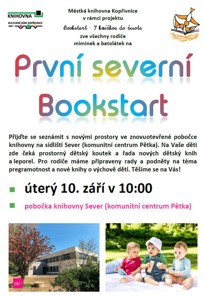 První severní Bookstart
