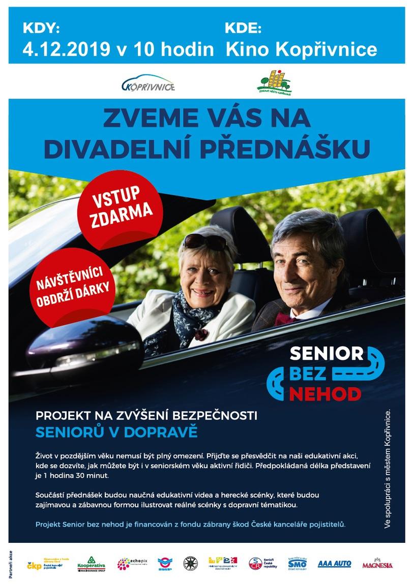 PŘEDNÁŠKA: Senior bez nehod