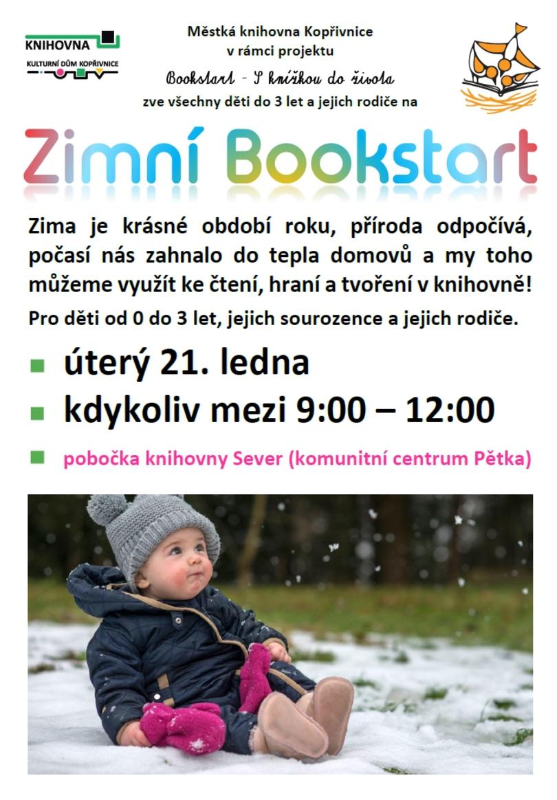 PRO DĚTI: Zimní Bookstart