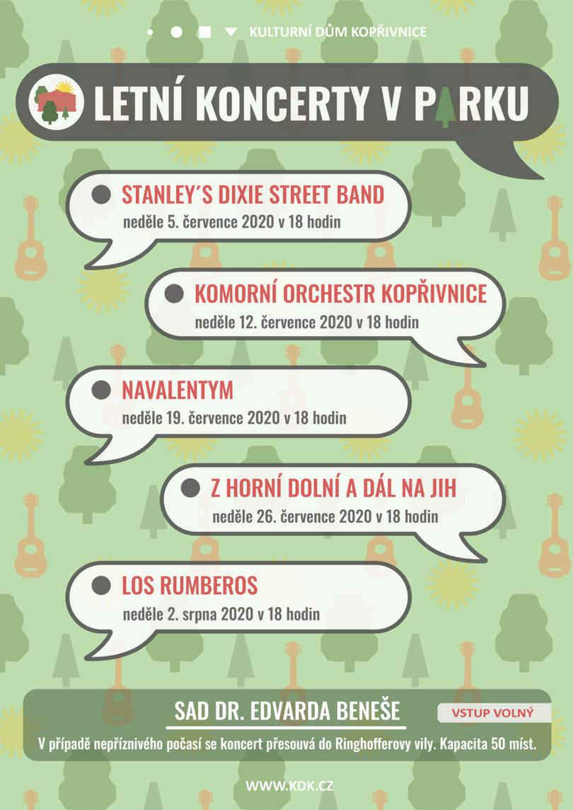 KONCERT: Letní koncerty v parku: Komorní orchestr Kopřivnice
