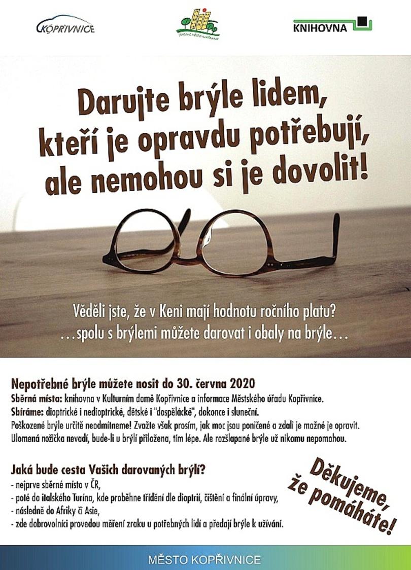 Sbírka brýlí