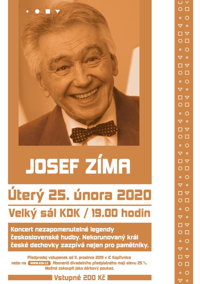 KONCERT: Josef Zíma