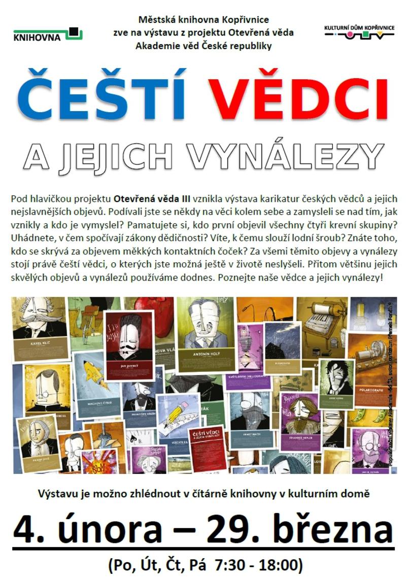 VÝSTAVA: Čeští vědci a jejich vynálezy