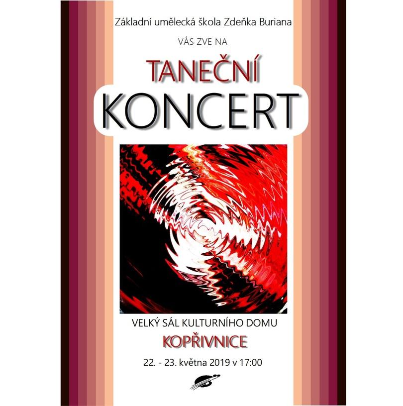 Taneční koncerty ZUŠ Zdeňka Buriana