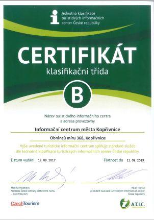 Certifikované TIC